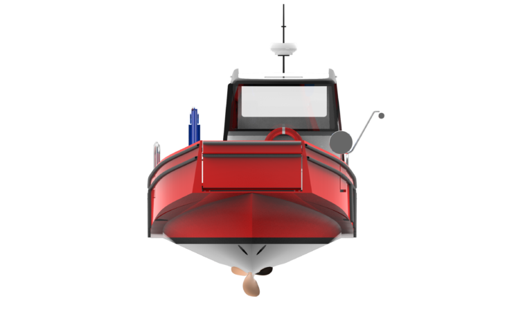 WB - 10,5 - WORKBOAT - FRONT VIEW