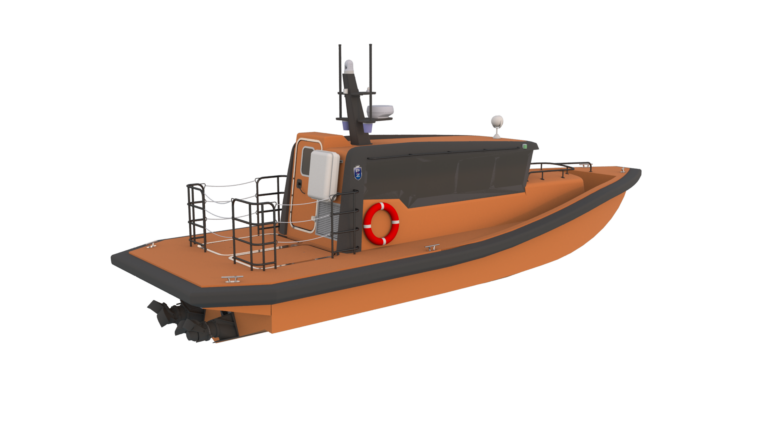 5000-03-54-6 - 11m Rescue vessel - Aft ISO
